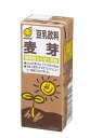 """200 ml of Marusan soy milk malt"" 24 sets"