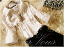 White charm * floral switch ワンピースセレブ white * black * wedding * party * party dress cheap womens limited * cheap ladies limited 653 fall new larger size