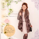 ☆ downcourt coat down gorgeous fox fur faced fur outerwear jacket long medium * wedding * party * party * cheap women's limited 819 autumn new large size down jacket