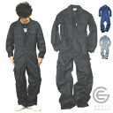 Shadow stripe summer fabric sleeve Workwear /GE-507 / * connect pun overalls men *