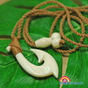 The fish hook necklace 2 Hawaiian jewelry ☆ cow Vaughn series☆