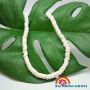 ☆☆ ナチュラルハワイアンジュ jewelry puka shells necklace L size (50 cm)