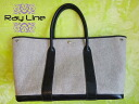 ★ HERMES ★ Hermes real tote bag garden party PM gray 140205-530-10