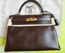 ★ HERMES ★ Hermes Kelly bag 30 K mark in stitch Brown brand-new products that use ★ CP