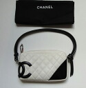 ★ CHANEL ★ Chanel matelasse Cambon shoulder black multi-pocket ★ beauty product ★【 used 】