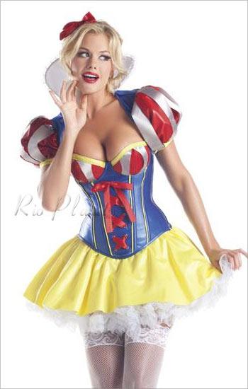 Disney Princess dress up snow white Princess cosplay costume costumes ...