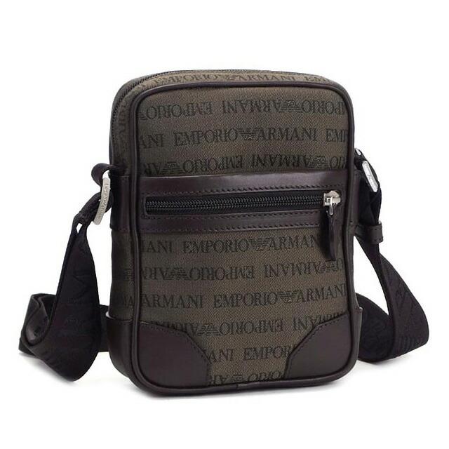 Giorgio Armani Leather Shoulder Bag 65