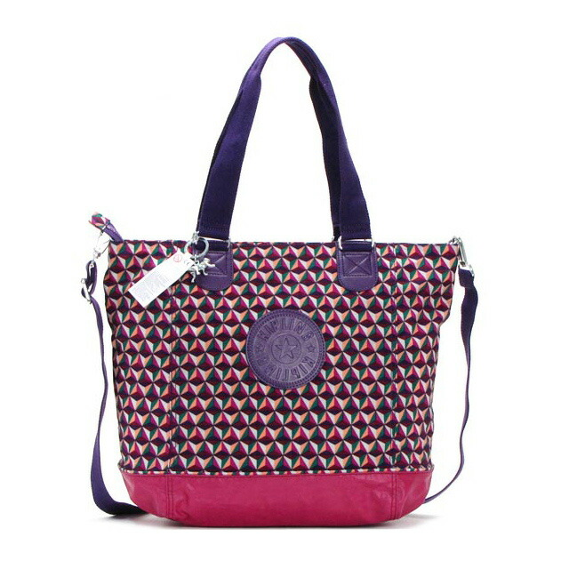 Kipling Womens Shopper Combo Shoulder Bag 45