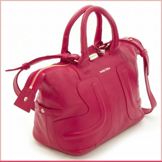 see by chloe pink bag