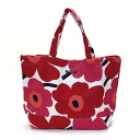 Large tote bag unikko marimekko Marimekko Tote canvas shoulder bag ladies bag 0038151 001 white