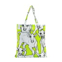 Marimekko tote bag marimekko Eco bag folding Thoth Lady's bag ILTAVILLI イルタヴィッリ cow pattern animal pattern 063603 610