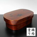 Trunk bending strain magewappa lunch box cherry Sri lacquered (wood Mage wappa)
