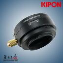 The KIPON( キポン) Nikon F mount lens - Fuji Film X マウントアダプターアオリ (shift) mechanism deployment