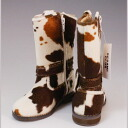 Immediate SALE ☆ red Holstein of kids ' popular セサミクラブ children's boots