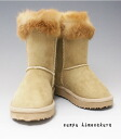 Was pretty with a boa mouton-like during soft and fluffy fur boots beige of popularity this year; or ♪ kids boots *