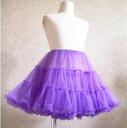 Holiday ranking ☆ fluffy petticoat Princess 8 color Milky purple children's petticoat Gothic Lolita-Chan dance costumes