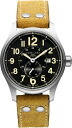 HAMILTON Hamilton khaki officer automatic brown nubuck strap H70655733 regular article