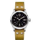 HAMILTON Hamilton Watch カーキフィールドオート 40 mm ブラウンヌバックス strap H70595593 regular products