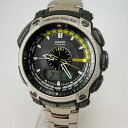 Casio protrek multiband 6 tough solar wave PRW-5000T-7JF an analog-digital type watches