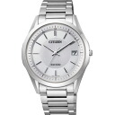 Citizen citizen watch エクシードエコドライブソーラー electric wave men watch AS7090-51A