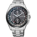 Citizen citizen watch ATTESA アテッサ Eco-Drive Eco drive solar electric wave direct flight AT8045-53E-limited model men