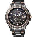 Citizen citizen watch ATTESA アテッサ Eco-Drive Eco drive radio time signal direct flight amount-limited AT9026-52E men