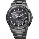 Citizen citizen watch ATTESA アテッサ Eco-Drive Eco drive solar electric wave direct flight BY0095-50E-limited model men