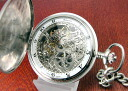 HABMANN ハッフマン pocket watch hand wound skeleton Ref.31907CAOH
