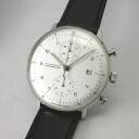 Max Bill BY ユンハンス JUNGHANS Chronoscope automatic winding watch 027 4800 00 regular products