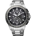 Citizen citizen watch ATTESA アテッサ Eco-Drive Eco drive radio time signal direct flight Makoto Hasebe model AT9024-58E men