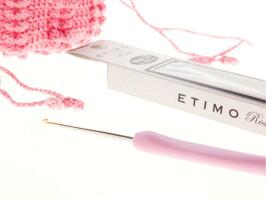 【新発売ピンクのレース針】エティモ ロゼ クッショングリップ付レース針