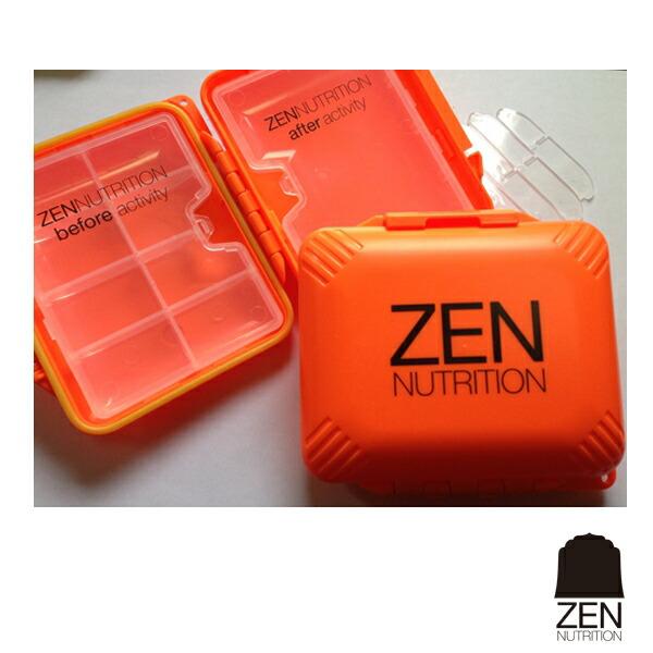 「ZENNUTRITION」(ゼンニュートリション)詰替ケースMサイズ(仕切板付)