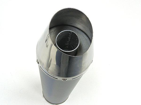 摩托车用品 零件 排气管 商品详细信息   黑色斜线切消声器 规格
