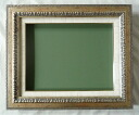 Oil painting oil painting picture frame (frame art) MJ109 F8 silver-brand new