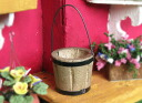 Miniature gadgets wooden buckets [NY70046], [m-s]