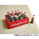 Miniature gadgets Cola 1 dozen wooden box set only with box * image characters a little has changed.