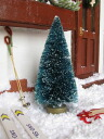 Miniature miscellaneous goods 10cm Christmas tree little Snow [reentry load]