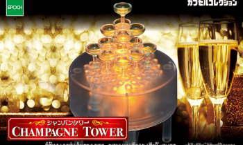 シャンパンタワー CHAMPAGNE TOWER
