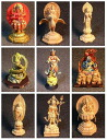 Boford yuuboku world contemporary Buddhist statues vol.1 9 kinds set Buddha figure completed