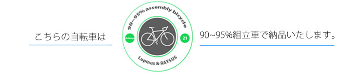 送料無料 組立簡単 自転車