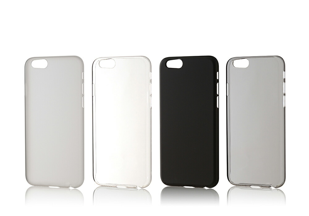 iPhone6用 ポリカーボネート製ジャケット Air Jacket(TM) set for iPhone6