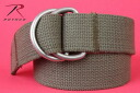 ROTHCO rothco military d-ring belt OD military items