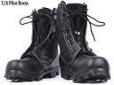 fs3gm brand new US Army pilot boots zip black