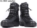 Excellent compatibility with &fs3gm brand new US Army SWAT combat boots black military boots denim or army bread!