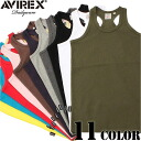 AVIREX-avirex military daily wear tank tops 11 color definitely hurt is not the ultimate staple items one less ユーティリティーウェア