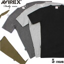AVIREX avirex daily wear short-sleeved crew neck T shirts 5 color definitely hurt is not the ultimate staple items one less ユーティリティーウェア