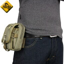 MAGFORCE magforce MF-0307 m-1 Waistpack TAN could drop waist pouch that holds main compartment in addition with carrying pouch