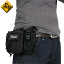 Can be loaded such as MOLLE best by MAGFORCE magforce MF-0324 M-11 Waistpack Black MXLOCK