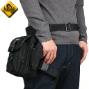 MAGFORCE magforce MF-0401 Thermite Waistpack Black shoulder bag & legs trapped leg can be fixed too