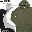 AVIREX avirex daily wear long sleeve zip Parker 4 color definitely hurt is not the ultimate staple items one less utility ware